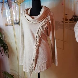 Avenue beige sweater size 14/16
